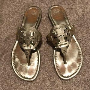 5418b8f92 Women Tory Burch Gold Miller Sandal on Poshmark
